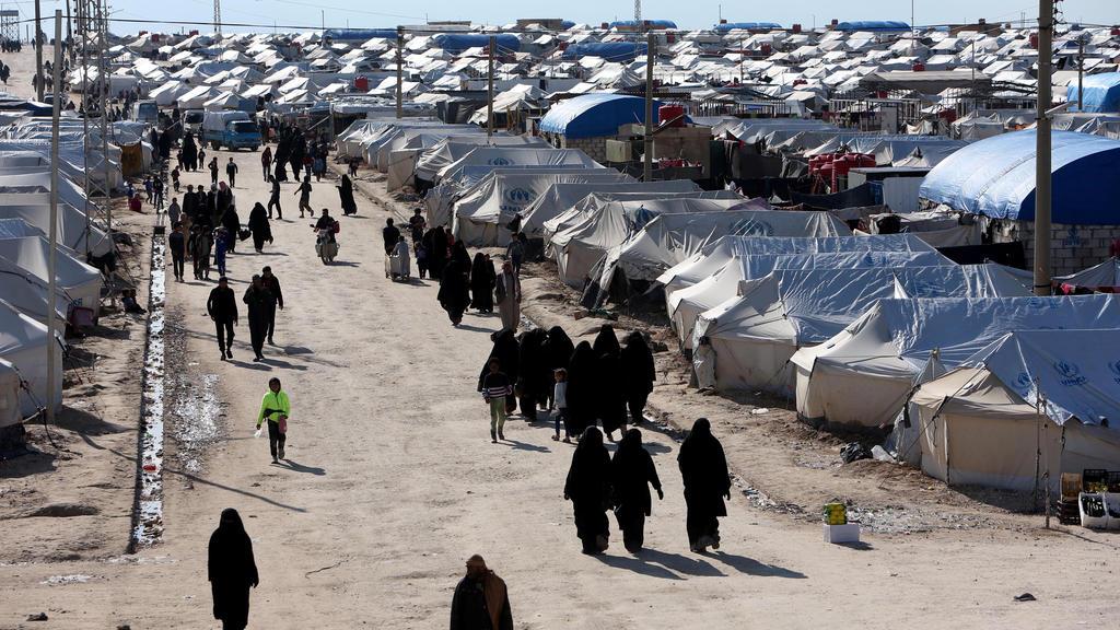 Al-Hol-Camp in Syrien