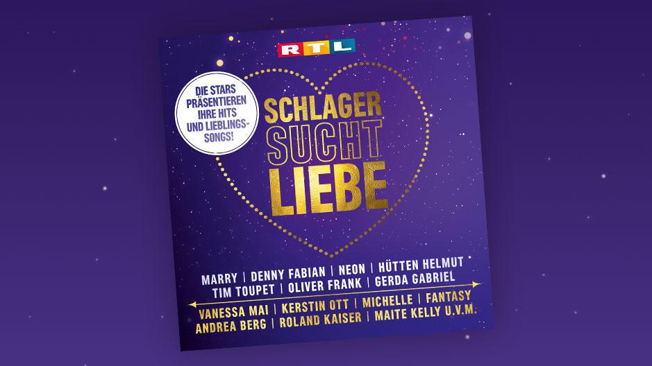 """""""Schlager sucht Liebe"""" -  das Album zur Show"""
