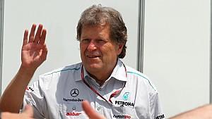 Norbert Haug wähnt Mercedes auf dem besten Weg zurück zur Weltspitze.