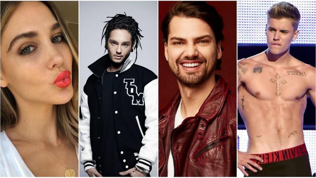 Ann-Kathrin Börmmel und ihre angeblichen Liebschaften: Tom Kaulitz, Jimi Blue Ochsenknecht und Justin Bieber.