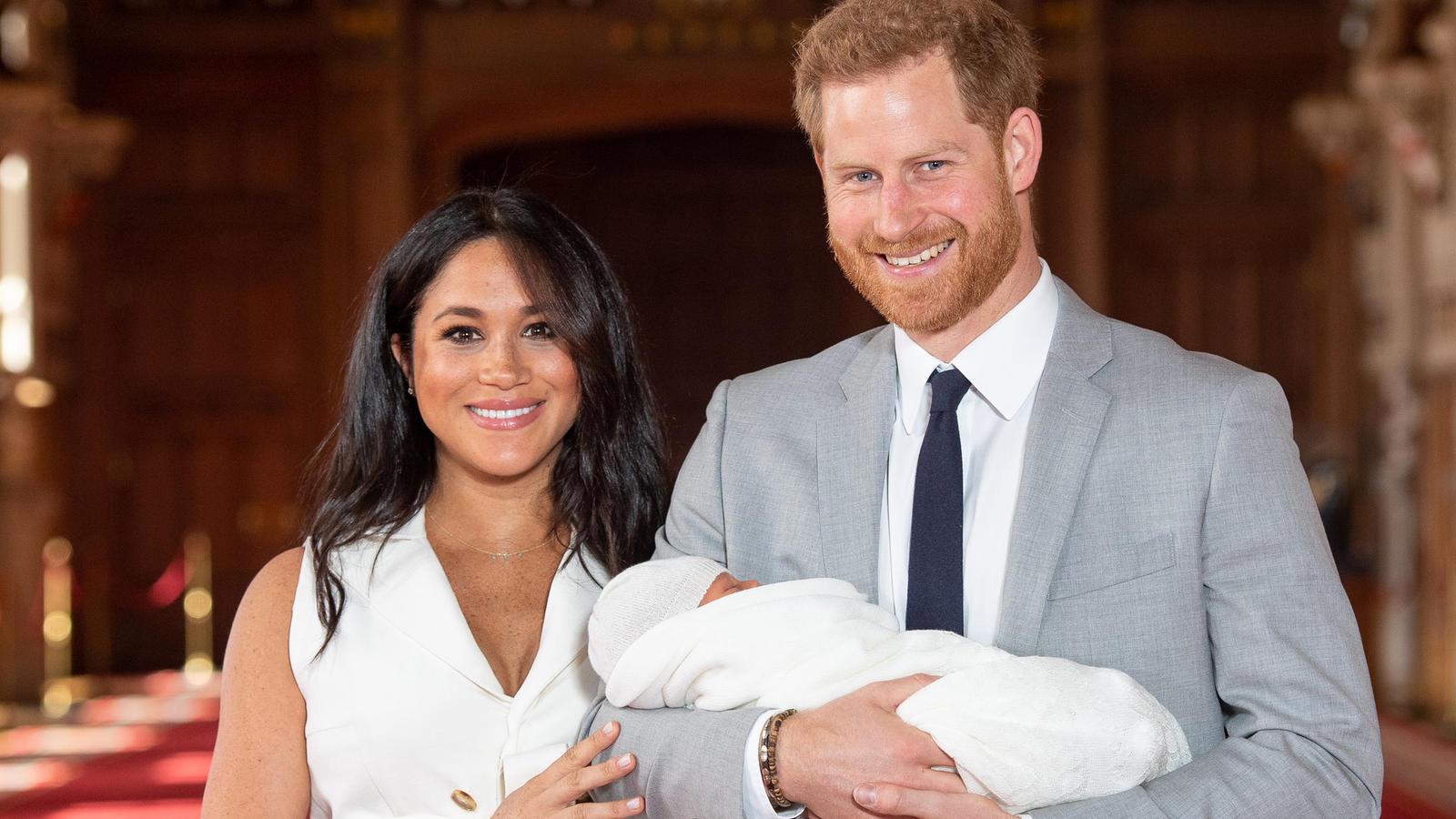 Der Sohn von Prinz Harry und Herzogin Meghan ist  am 6. Mai auf die Welt gekommen.