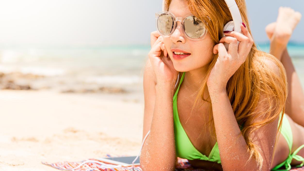 Im Urlaub ist meistens Zeit, ein gutes Hörbuch zu genießen.