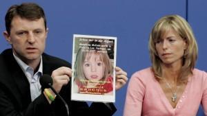 Maddies Eltern Kate und Gerry McCann suchen weiterhin unerbittlich nach ihrer Tochter.