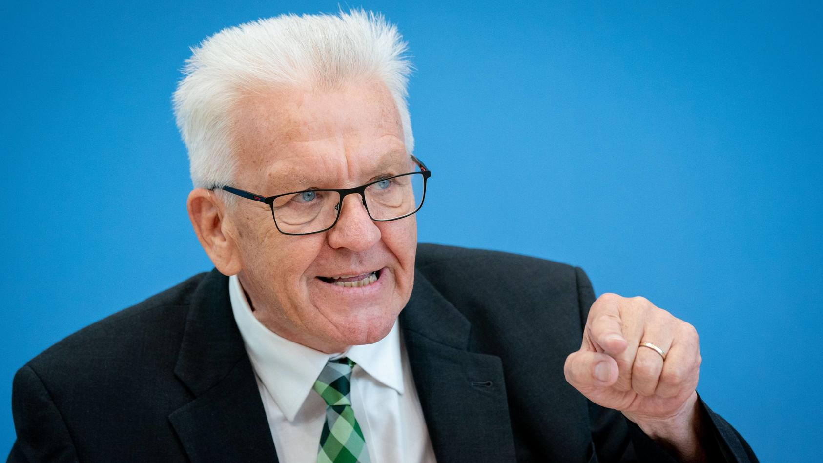 Winfried Kretschmann ist der beliebteste Ministerpräsident Deutschlands.