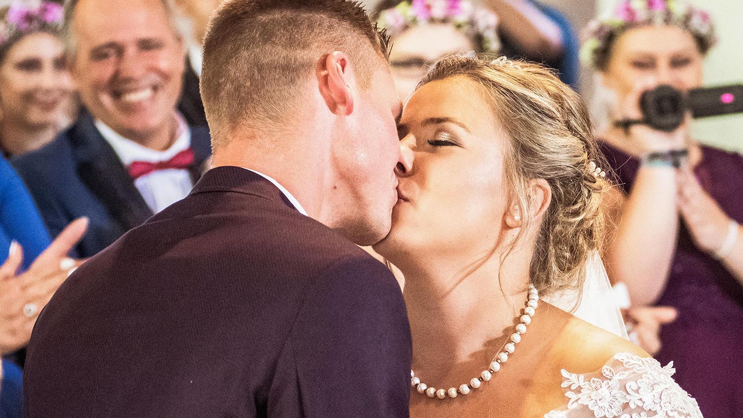 Sarafina Wollny und ihr Peter sind seit einem Jahr verheiratet.