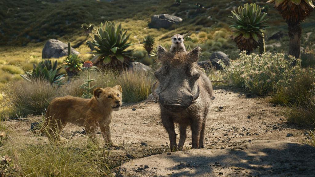 """Auch Timon und Pumba sind im Remake von """"Der König der Löwen"""" wieder dabei"""