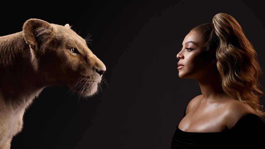 Beyoncé leiht in der englischen Originalversion Simbas Freundin Nala ihre Stimme