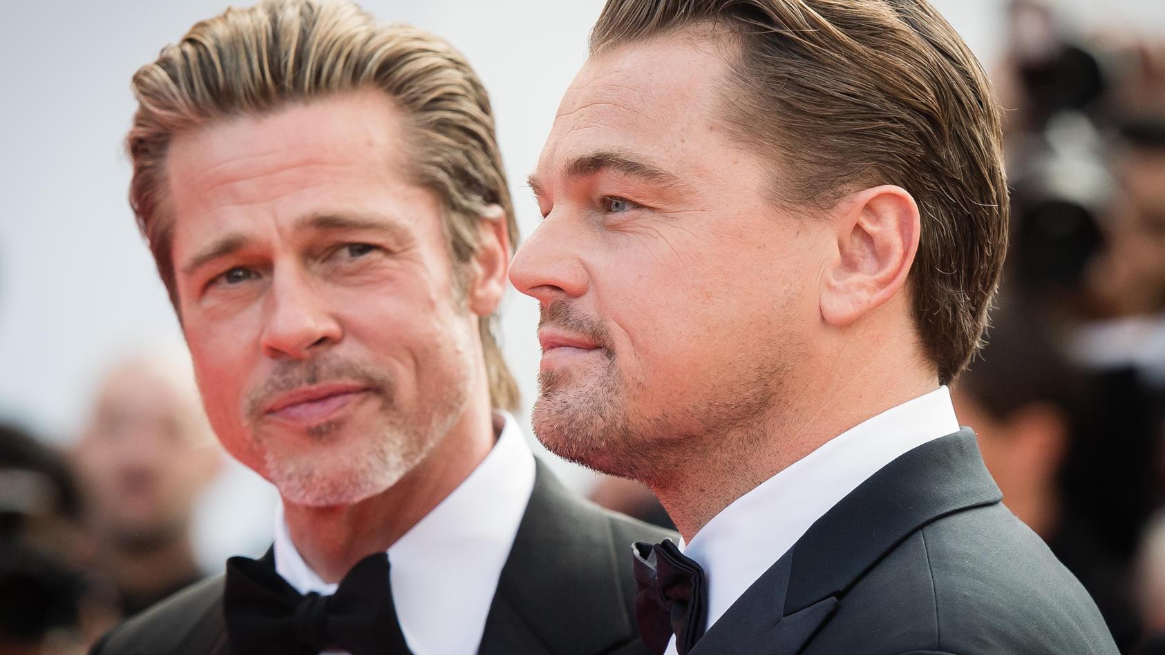 "Titanic"" Debatte Brad Pitt hakt bei Leonardo DiCaprio nach"