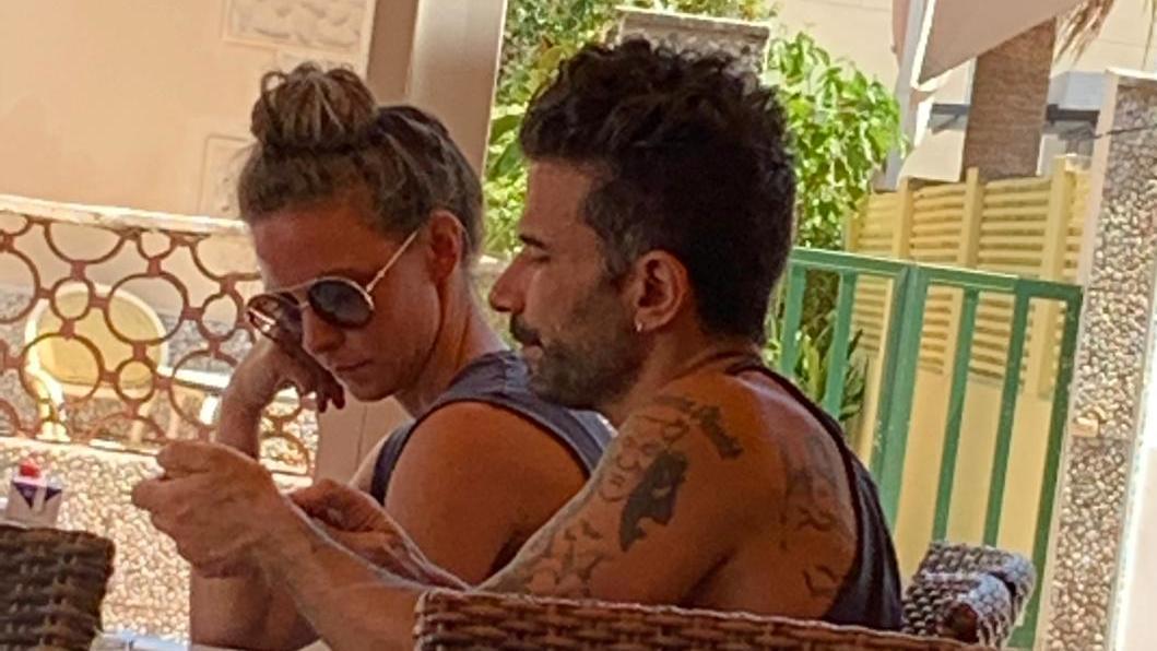Marc Terenzi auf Mallorca beim Flirten mit einer Dame