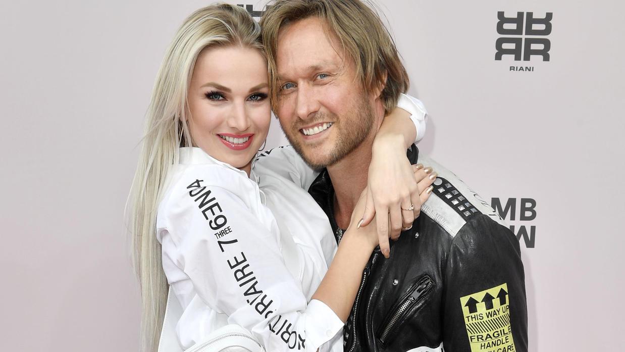 Katja Kalugina und Nico Schwanz: Dieses Paar war einmal.