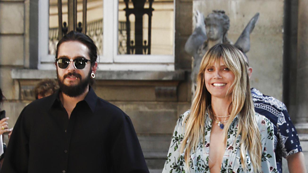 Tom Kaulitz und Heidi Klum verliebt in Paris