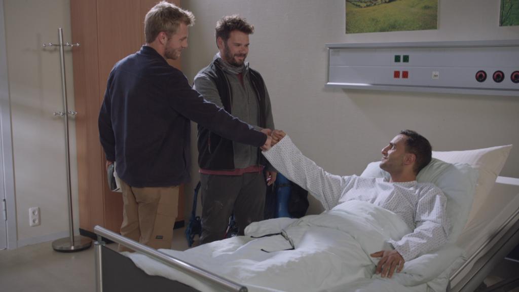 GZSZ: Paul, Tuner und Nihat sind wieder Freunde.