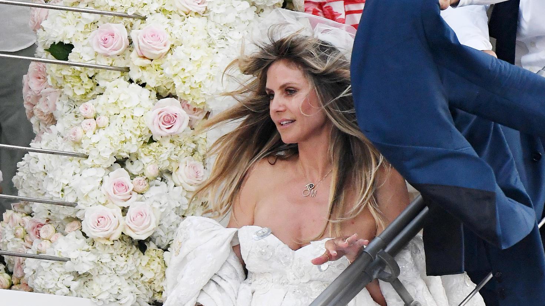 Heidi Klum ist verheiratet!