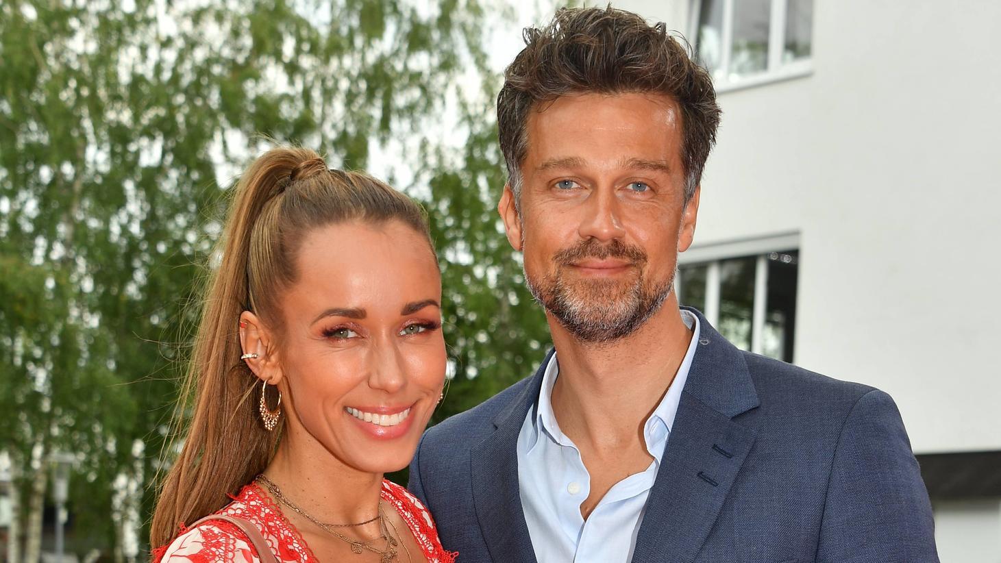 Wayne Carpendale mit Ehefrau Annemarie