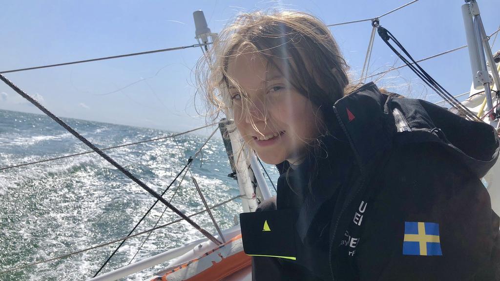 Greta Thunberg segelt mit dem Schiff nach New York.