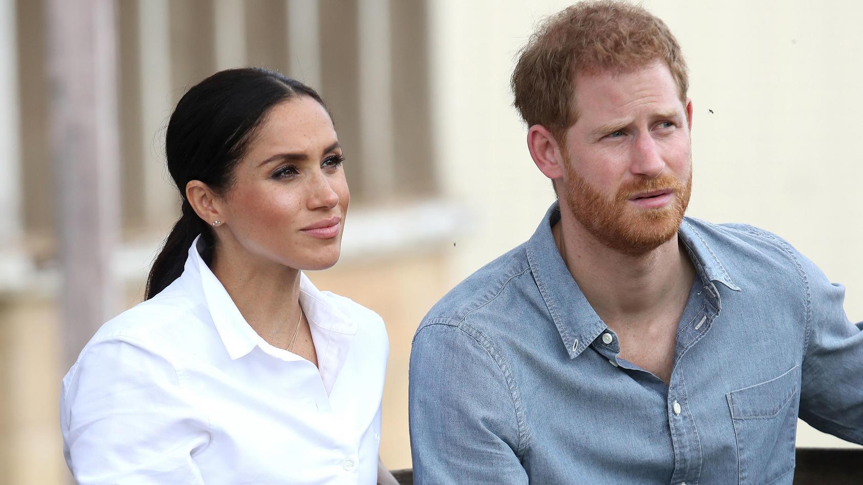 Kritik an Herzogin Meghan und Prinz Harry.