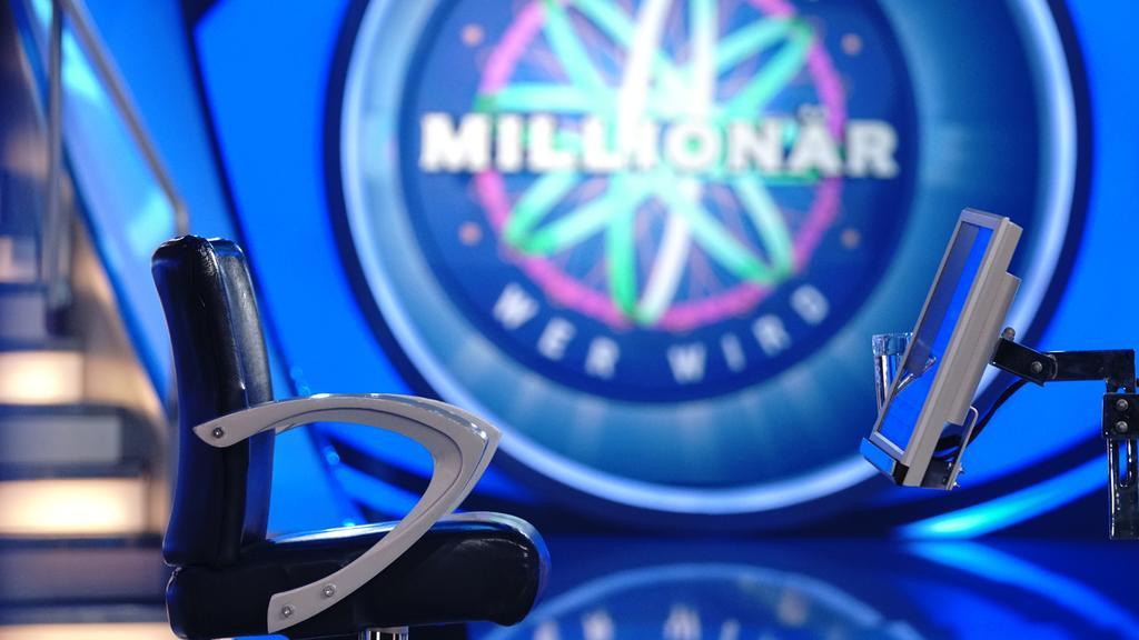 """Auf diesem """"Wer wird Millionär?""""-Stuhl sitzen die Kandidaten bei Günther Jauch."""
