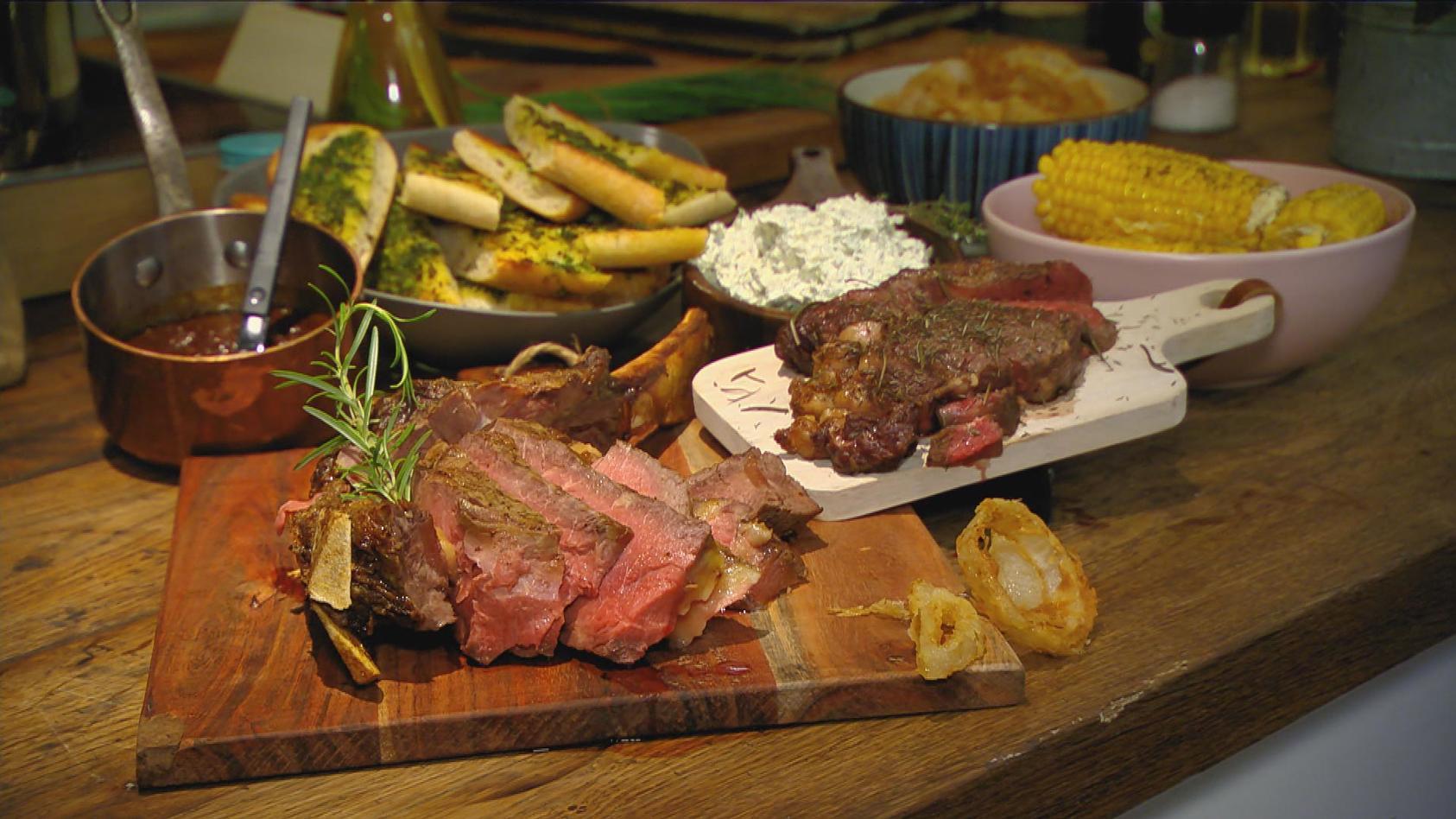 Meisterstück – Das perfekte Steak: Ludwigs Tomahawk Steak mit Barbecue-Sauce