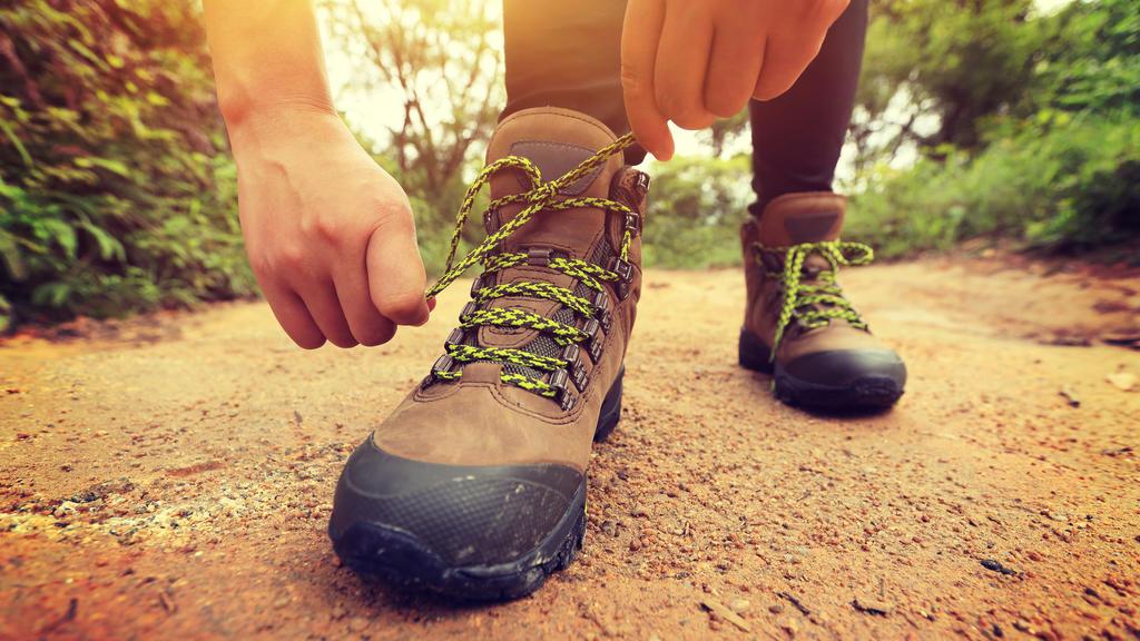 Neue Wanderschuhe: Nicht gleich die große Strecke angehen