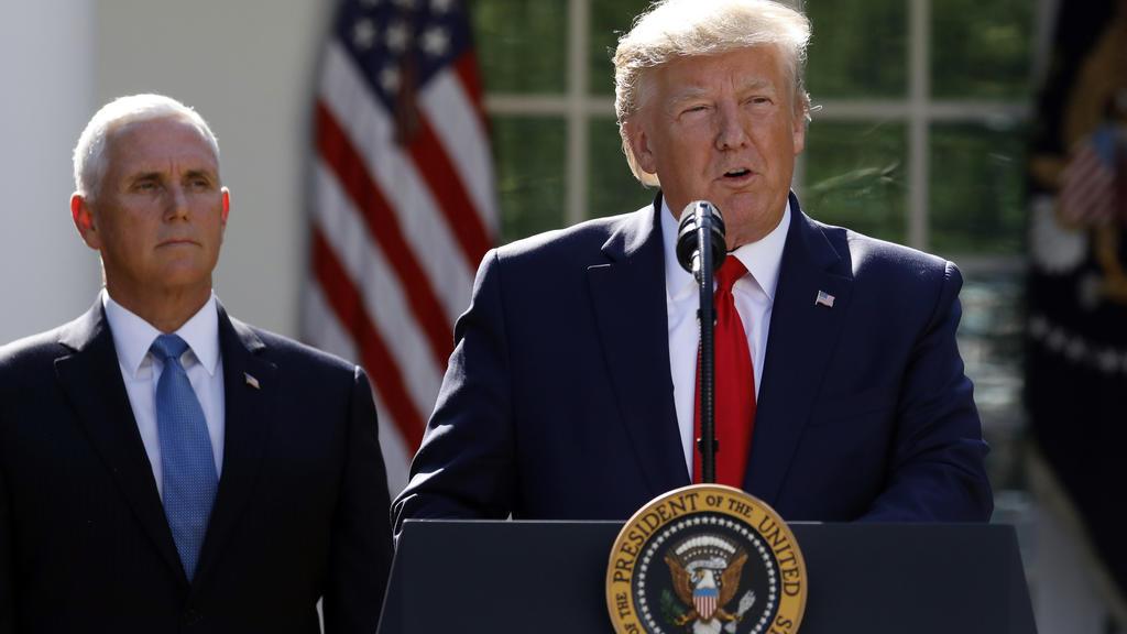 Mike Pence vertritt Donald Trump in Polen