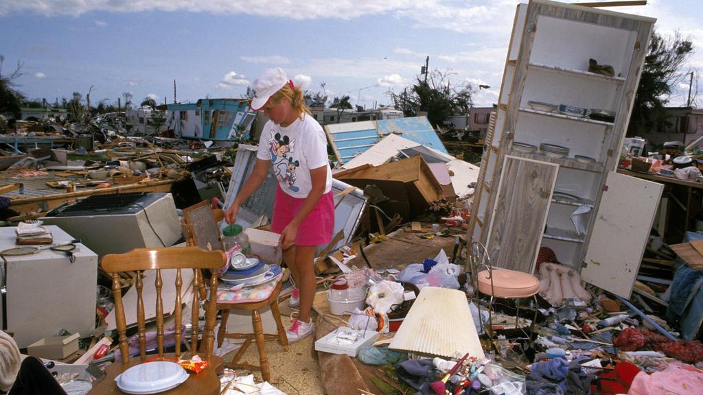 Florida 1992 - Hurrikan Andrew