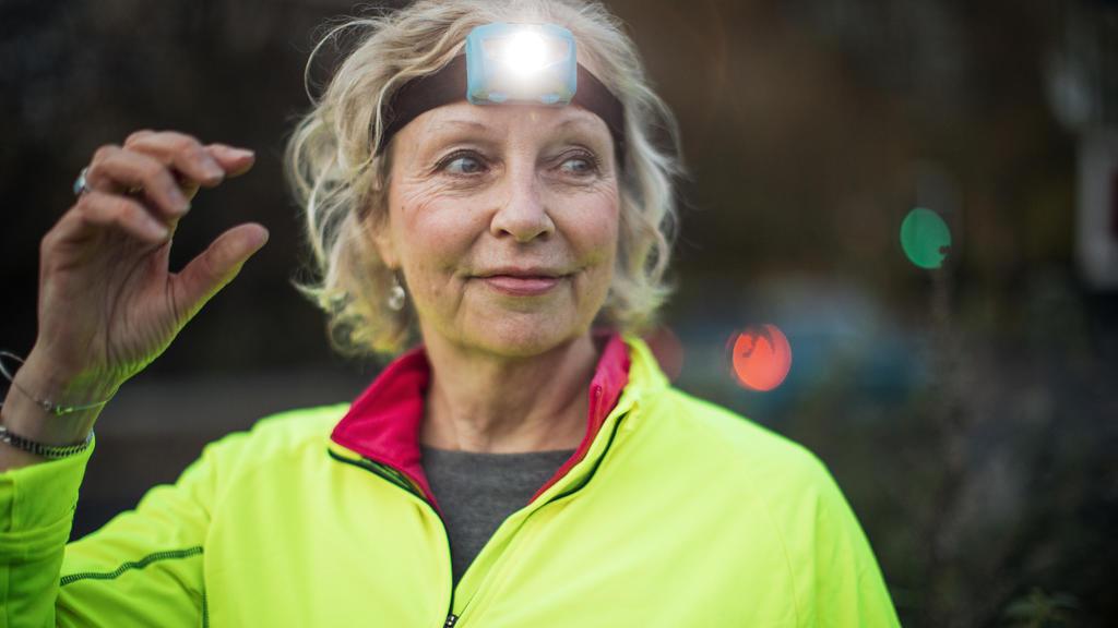 Stirnlampe beim Laufen: Gesehen und gesehen werden