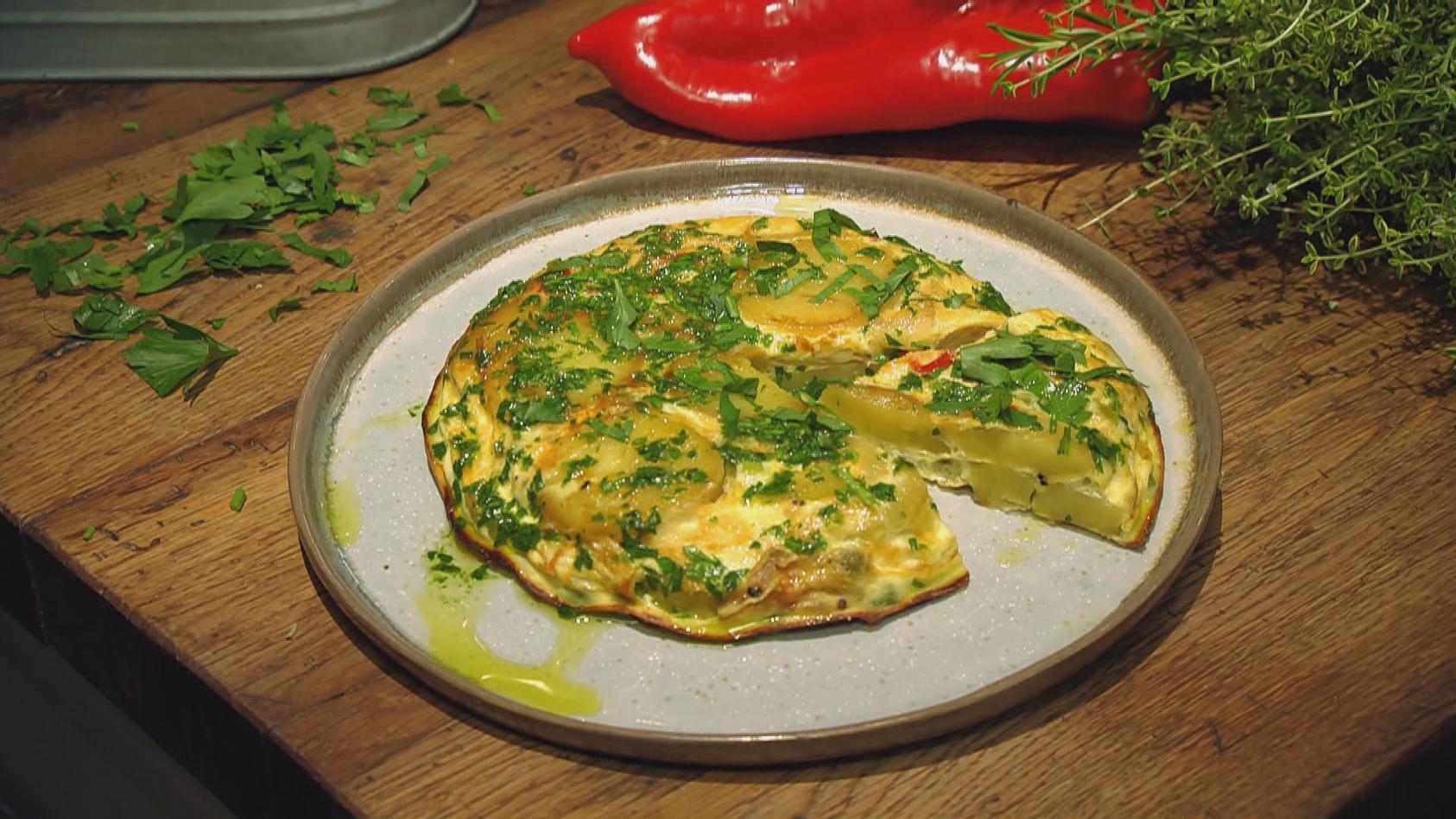 Frische Gartenküche – Purer Genuss aus der Heimat: Gemüse-Tortilla