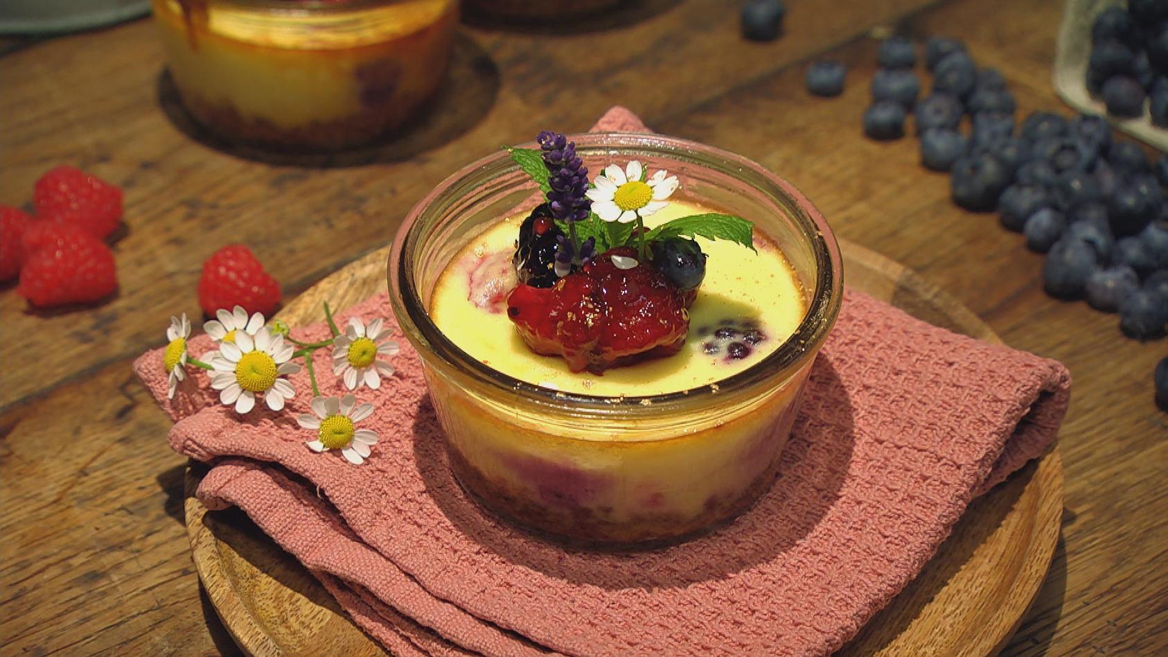 Frische Gartenküche – Purer Genuss aus der Heimat: Beeren-Käseküchlein
