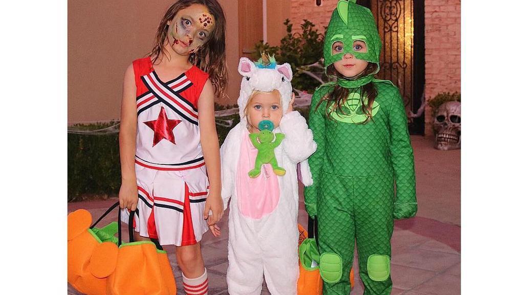 Megan Fox Kids an Halloween