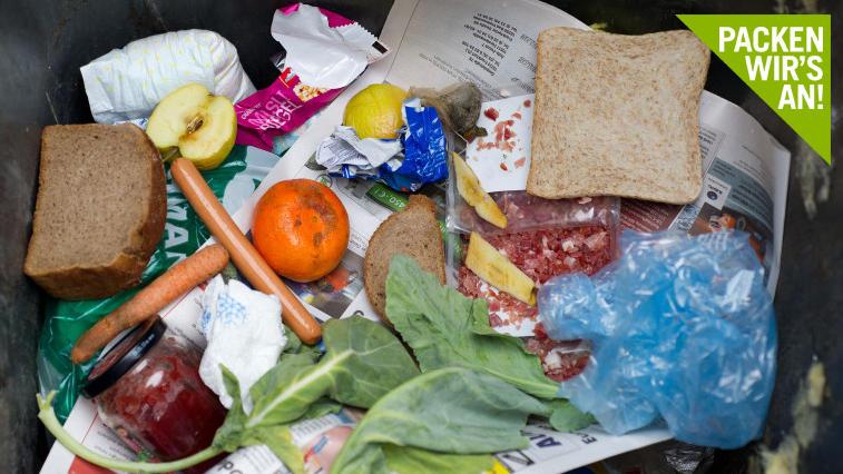 Wie kann man weniger verschwenderisch mit Lebensmitteln umgehen und dafür sorgen, dass nicht so viel im Müll landet?