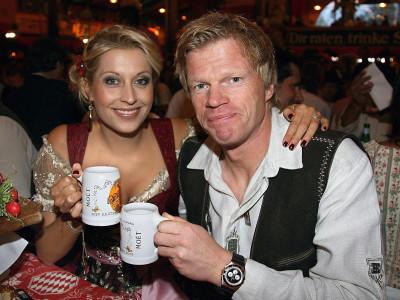 """2007 war Verena Kerth noch mit Ex-Nationaltorwart Oliver Kahn beim """"Oktoberfest""""."""