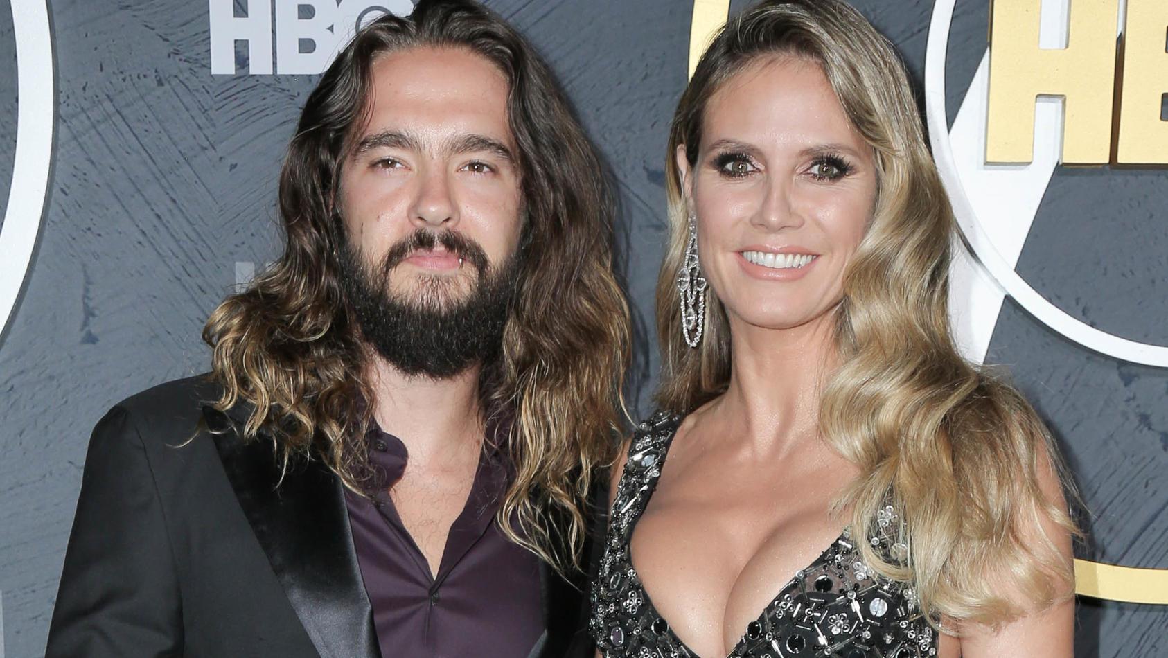 Bei der 71. Emmy-Verleihung erzählten Tom und Heidi, wie es mit ihren Kids so läuft.