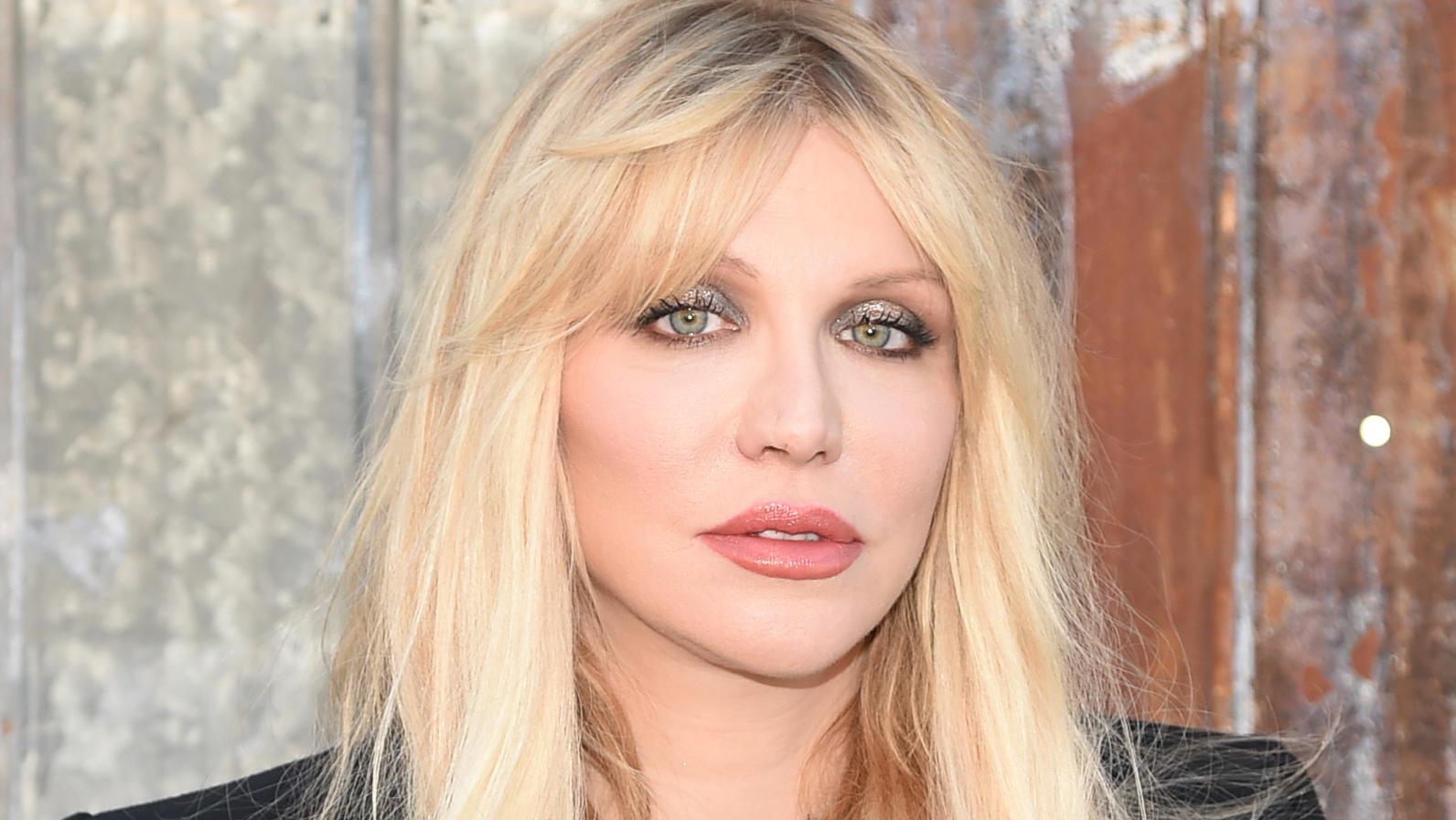 SO sieht Courtney Love nicht mehr aus