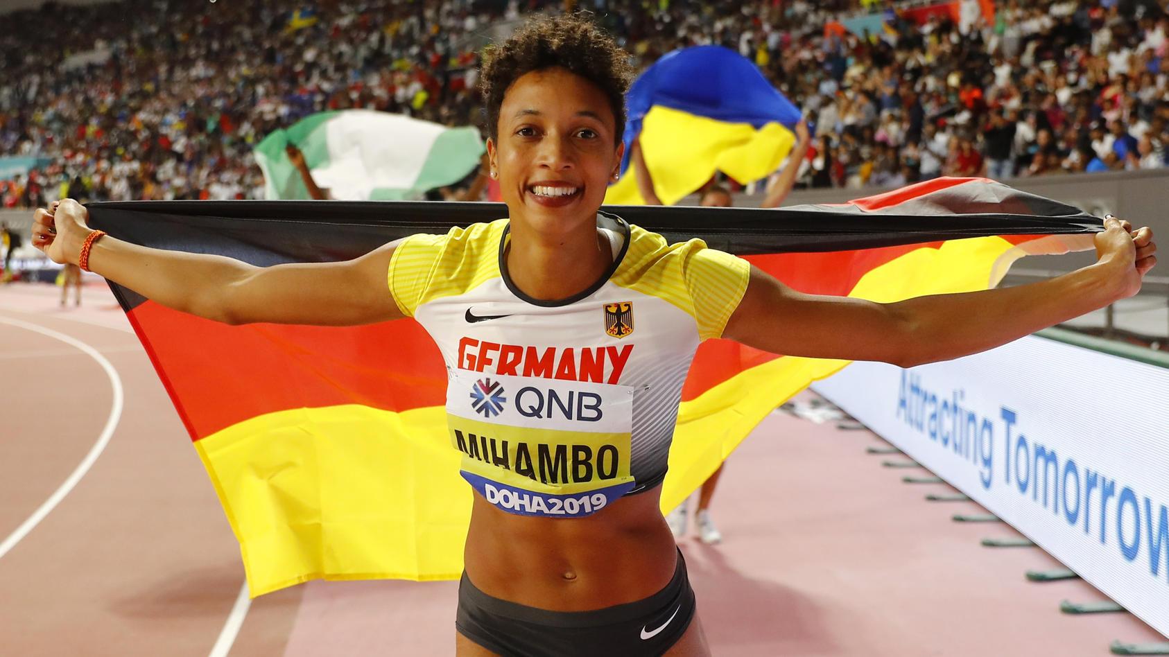 Malaika Mihambo ist Weltmeisterin im Weitsprung
