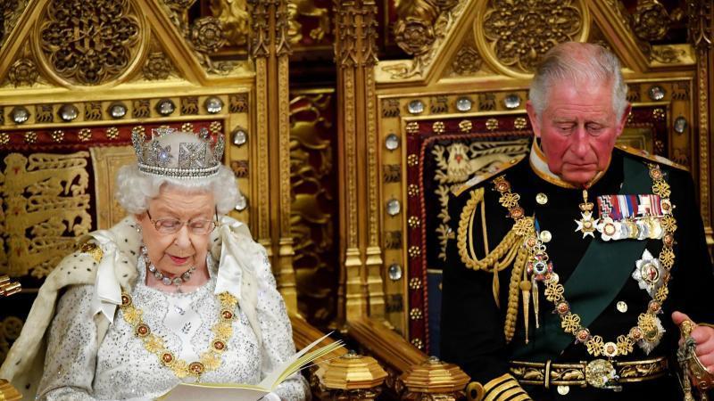 Königin Elisabeth II. hält «Queen's speech»