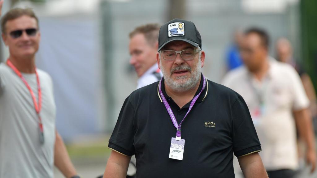 Peter Reichert ist seit Jahren für RTL im Fahrerlager unterwegs, interviewte Kimi Räikkönen schon dutzende Male
