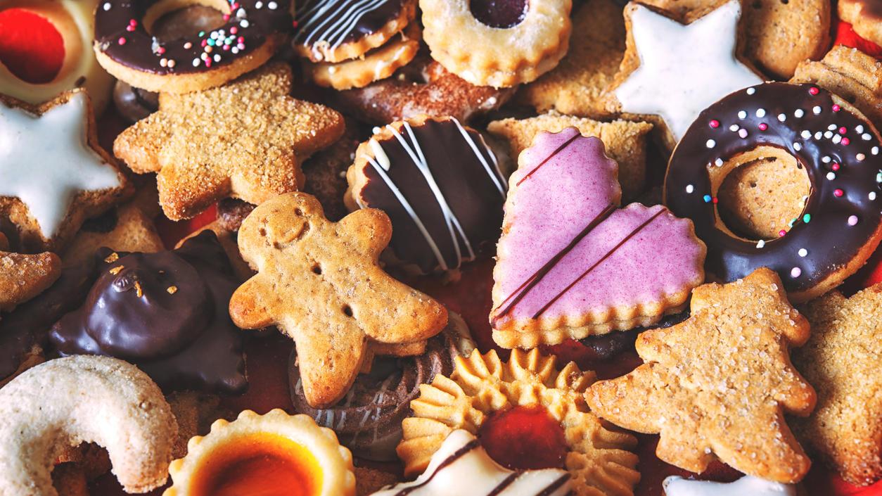 In der Weihnachtszeit können es nie genug Plätzchen sein!