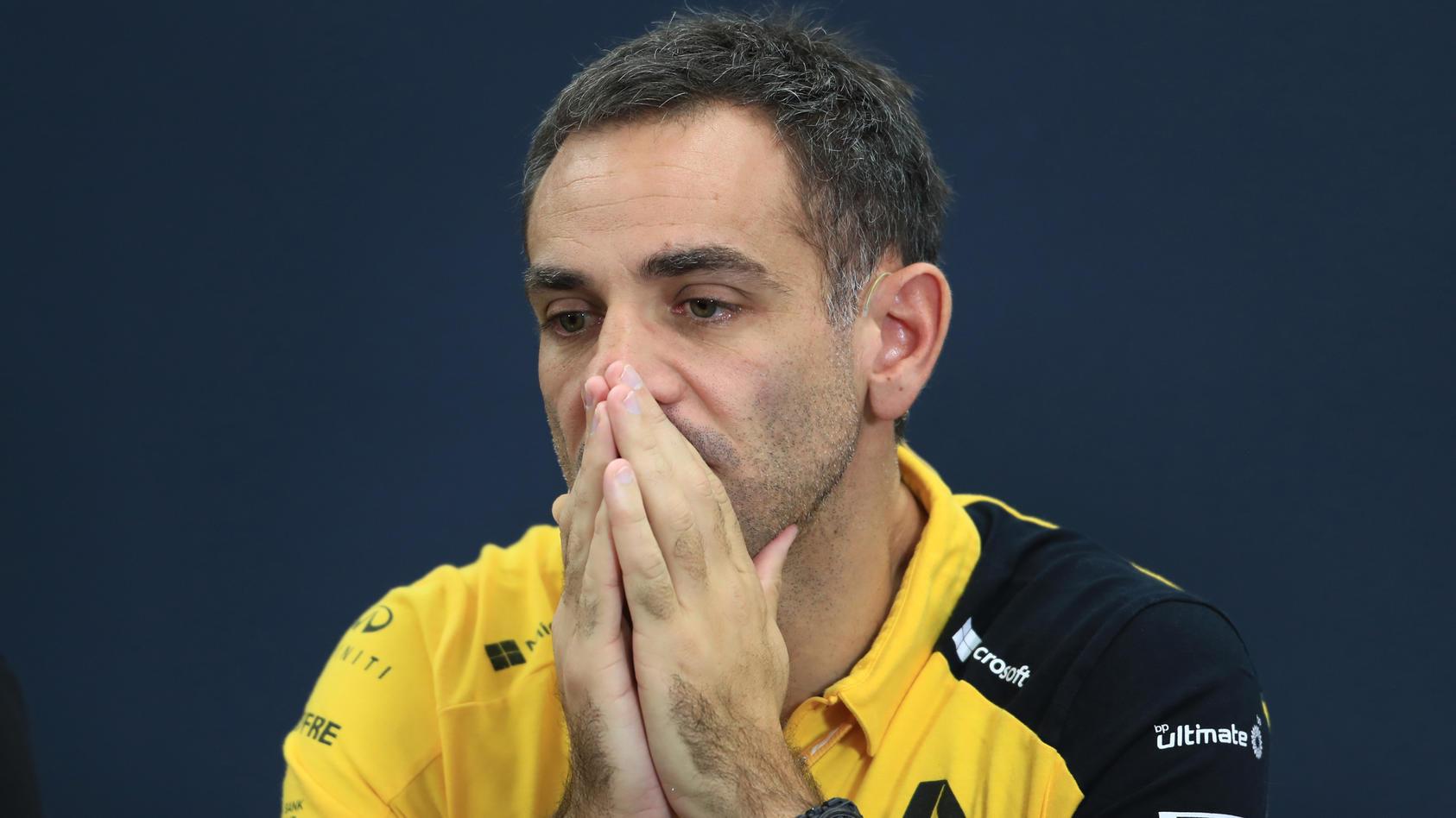 Fiel der Umstrukturierung und dem fehlenden Erfolg zum Opfer: Ex-Renault-Teamchef Cyril Abiteboul.