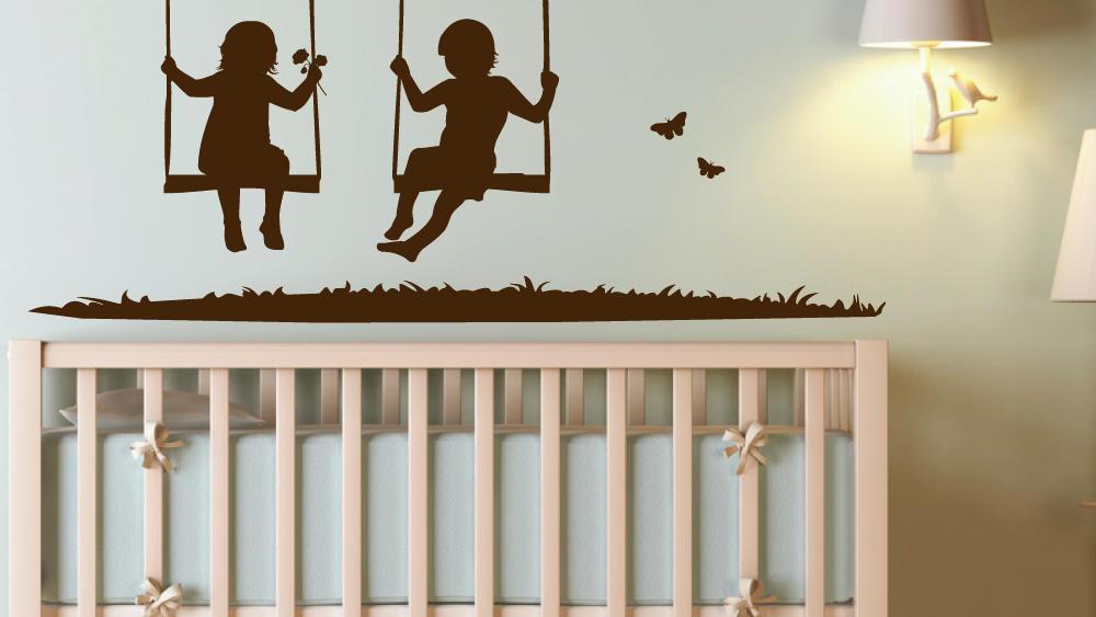 Wandtattoo fürs Kinderzimmer