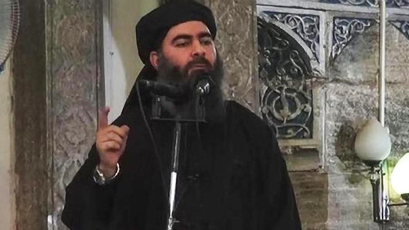 """Abu Bakr al-Bagdadi galt als Anführer der Terrormiliz """"Islamischer Staat""""."""