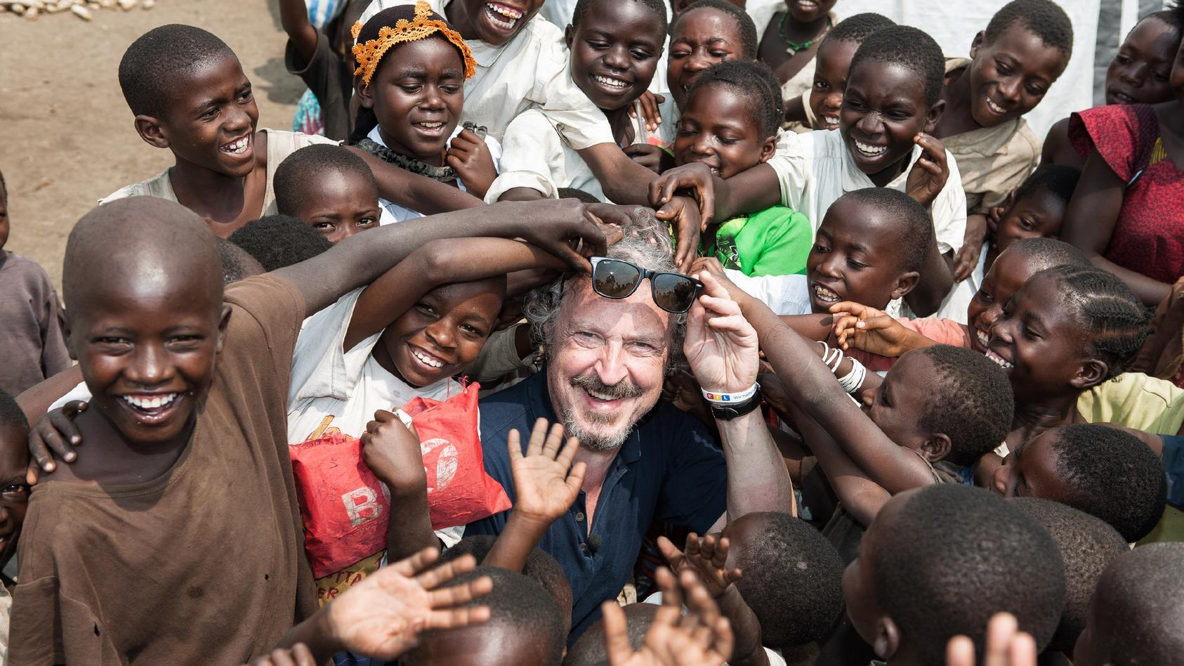 Wolfgang Niedecken hilft Kindern im Ostkongo.