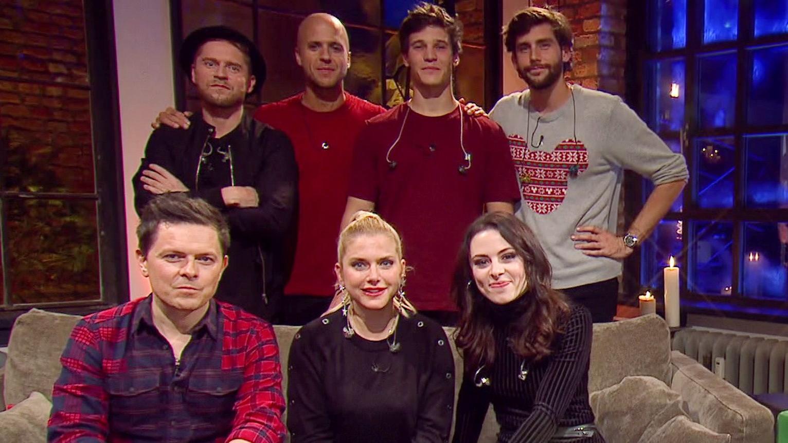 """Die """"Sing meinen Song""""-Stars feiern schon im November Weihnachten."""