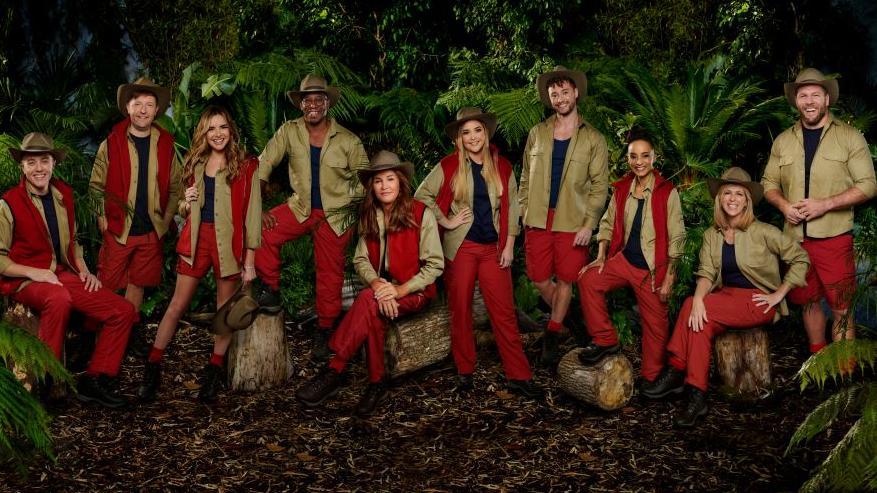 Die Stars des britischen Dschungelcamps 2019 in Australien.