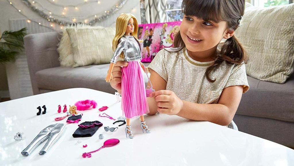 Barbie-Adventskalender