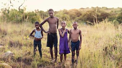 Das Volk in Swasiland leidet unter Hunger.
