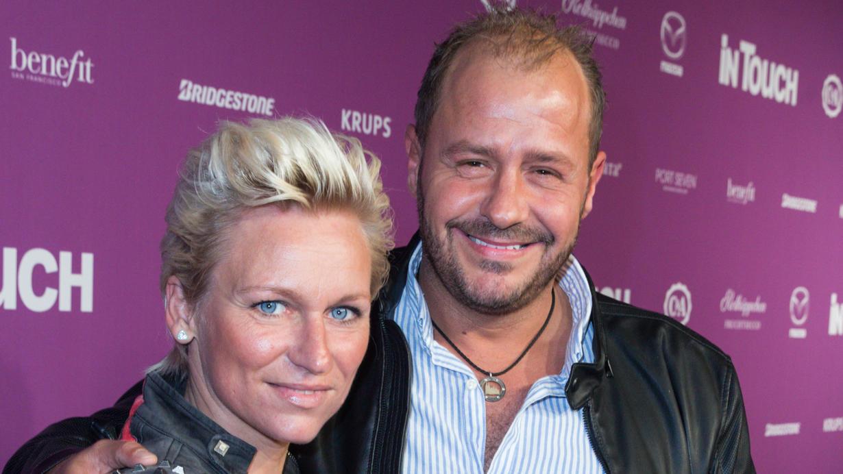 Da waren beide noch gut miteinander: Willi Herren mit seiner ehemaligen Managerin und Freundin Jana Windolph