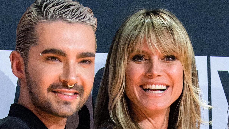 Sänger Bill Kauliz und Moderatorin Heidi Klum