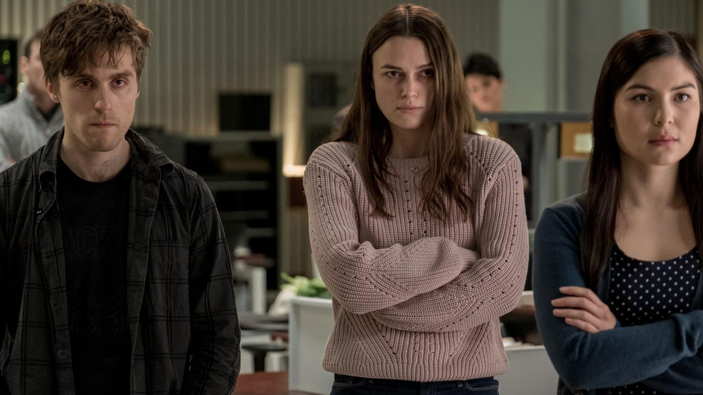 """Keira Knightley gibt sich kämpferisch und trotzig in """"Official Secrets"""""""