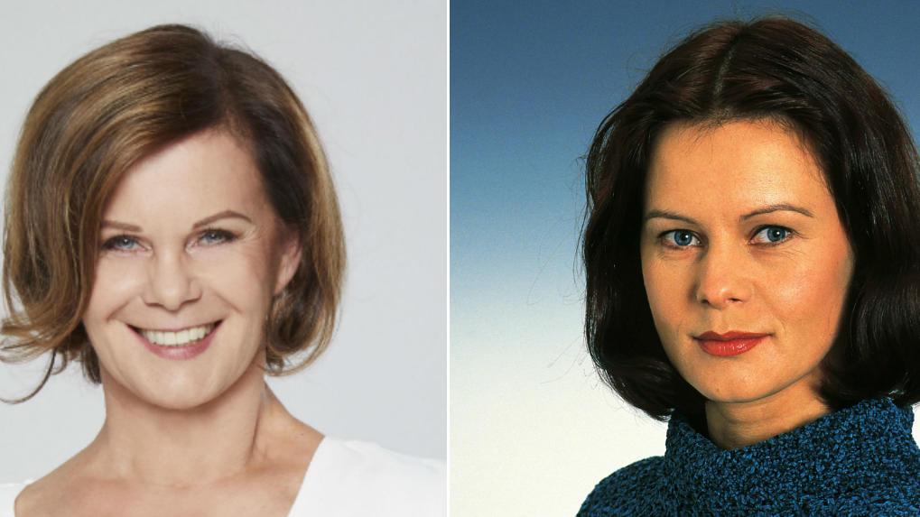 Petra Blossey heute und früher