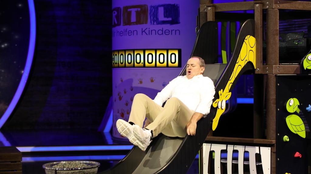 Wolfram Kons beim 24. RTL-Spendenmarathon